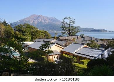 [UNESCO] Traditional Japanese Residence at Senganen Garden in Kagoshima, Japan