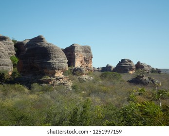 UNESCO World Heritage. The natural beauties of the Serra da Capivara National Park. Tourism in the Caatinga - State of Piauí - Northeast Brazil.