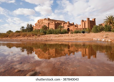 UNESCO World Heritage Site Ait Benhaddou Kasbah, Ait Ben Haddou, Ouarzazate, Morocco