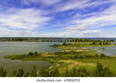 Unesco world heritage site in baltic sea between Finland and Sweden