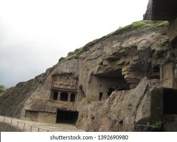 The UNESCO world heritage site of Ellora Caves