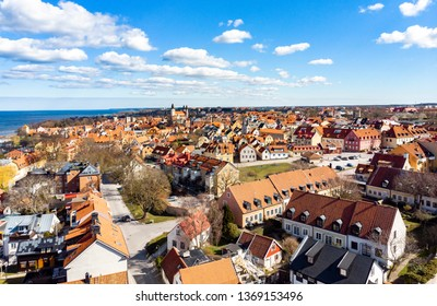 UNESCO world heritage town of Visby on the Swedish island of Gotland