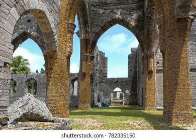 Unfinished Church in Bermuda.