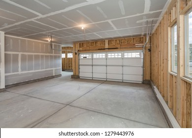 Unfinished Home Garage