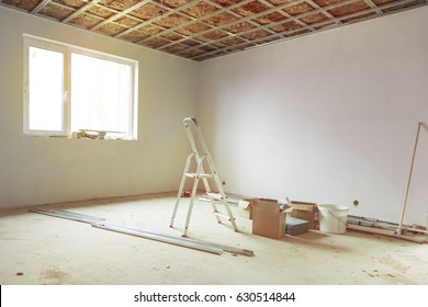 unfinished house repairs contruction or renovation