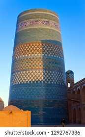 unfinished Kalta Minor Minaret (minaret Muhammad Amin Khan (19th century)). Khiva, Uzbekistan