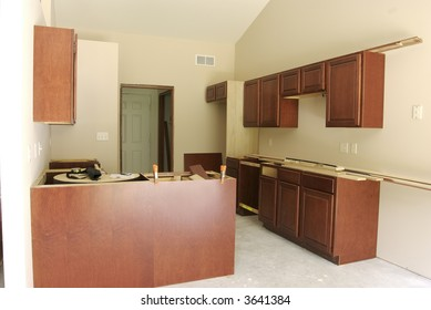 Unfinished Kitchen