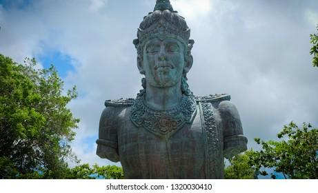 The unfinished statue of Garuda Wisnu Kencana in Bali,Indonesia