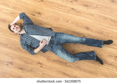 Man Laying Stock Images Royalty Free Images Amp Vectors