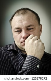 Unhappy man. Series