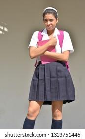 An Unhappy School Girl