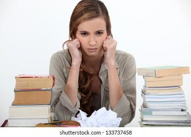 Unhappy student