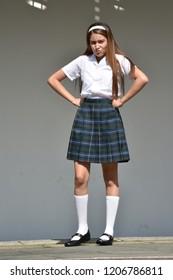 teens in mini skirts