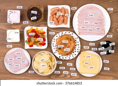 Unhealthy food additives