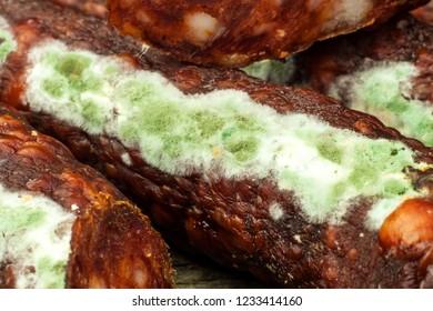 Unhealthy moldy food