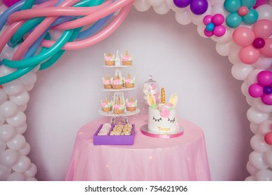 Unicorn party birthday photostudio