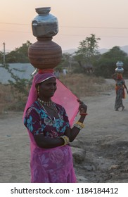 unidentified lady in pushkar camel fair 2017 in pushkar, rajasthan, india  on 24 october 2017