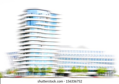 Unilever-House abstract illustrated.