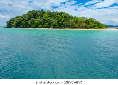 Uninhabited island and limpid waters, Myeik Archipelago, Myanmar