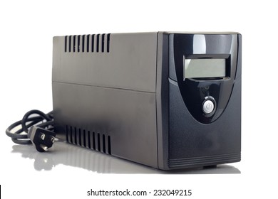 Uninterruptible Power Supply (UPS) on a white background.