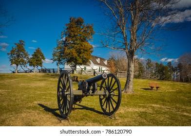 Union Canon & Hillsman House - Sailor's Creek Battlefield State Park