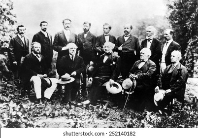 Union and Confederate Leaders, 1869.