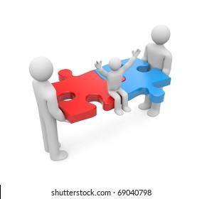 Union. Family concept