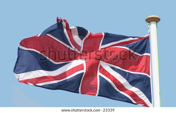 The Union Jack, Britain's flag