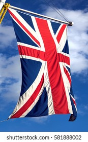 Union Jack flag of the United Kingdom