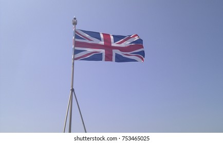 Union Jack in the Wind