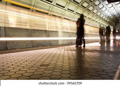 Union Station Metro station in Washington DC, United States