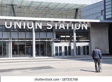 Union Station sign