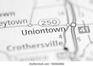 Uniontown. Indiana. USA