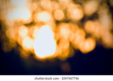 Unique abstract illumination of lights blurred background stock photo