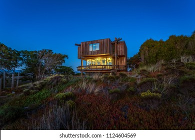 Unique Beach Home at Sunset