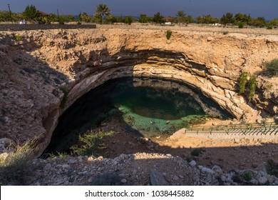 The unique Bimah Sinkhole in Muscat, Oman