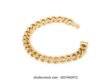 Unique bracelet of gold