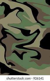 Unique Camoflage pattern.