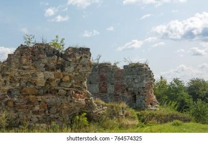Unique castle ruins - Shutterstock ID 764574325