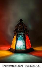 Unique colorful lantern