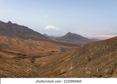 Unique desert landscape