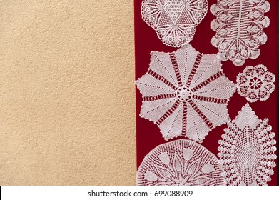 Unique handmade lacework from the island of Pag, Croatia