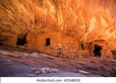 Unique indian ruin in the Bears Ears National Monument, Utah, USA.