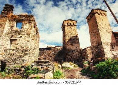 A unique insight into the ruins.