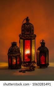 Unique lanterns with dark light