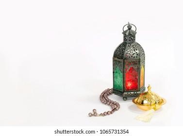 "Unique old lantern with "" masbaha"""