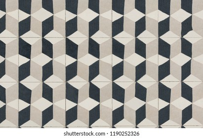 Unique tile design, Islam patterns, Escher like repetition tiled floor