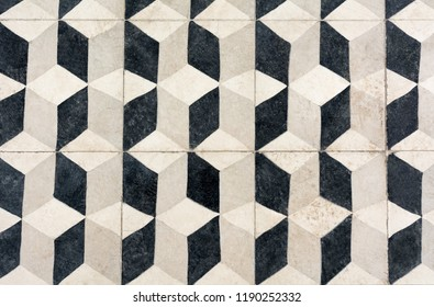 Unique tile design, Islam patterns, Escher like repetition tiled floor
