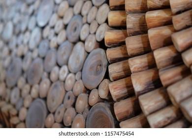 unique wooden decoration