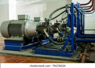 Unit pump for hydraulic pump station